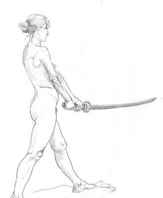 Benjamin von Eckartsberg - Live Drawing - Akt