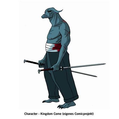 Benjamin von Eckartsberg - Character Design - Kingdom Come - freies Comic Projekt