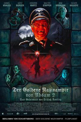 Benjamin von Eckartsberg - Illustration Filmplakat: Der goldene Nazivampir