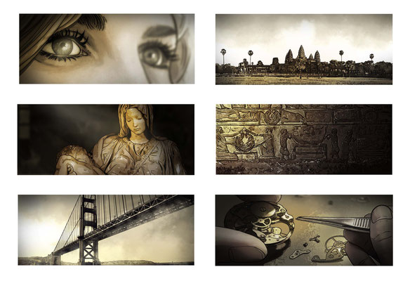 Benjamin von Eckartsberg - Storyboard Samsung Galaxy - Kunde: Samsung -  Agentur: Avantgarde