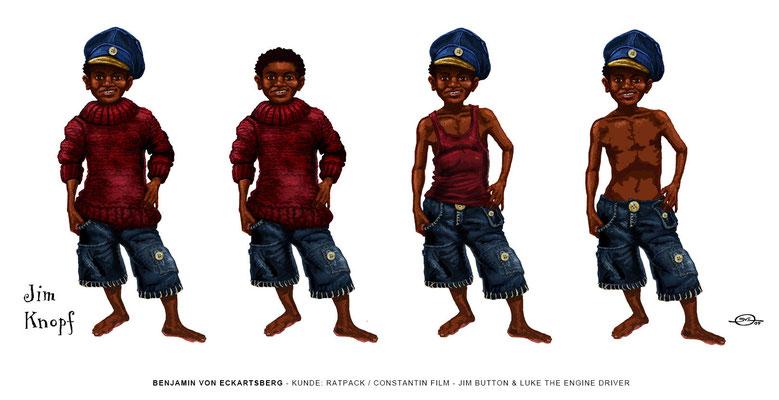 Benjamin von Eckartsberg - Concept Art - Jim Knopf und Lukas der Lokomotivführer - Ratpack / Constantin Film