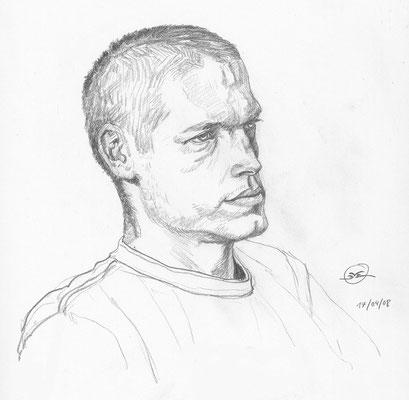 Benjamin von Eckartsberg - Live Drawing - Figürlich -Portrait