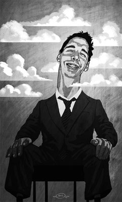 Benjamin von Eckartsberg - Illustration Editorial: Grandios überheblich - Artikel über Vorstellungsgespräche - Kunde: Unispiegel