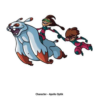 Benjamin von Eckartsberg - Character Design - Kunde: Apollo Optik