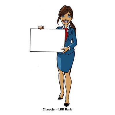 Benjamin von Eckartsberg - Character Design - Presenter Character for web - Kunde: LBB