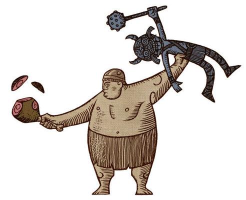 Benjamin von Eckartsberg - Character Design für Animations-Sequenz - Wickie und die starken Männer - Ratpack / Constantin Film