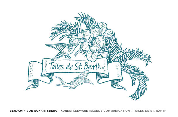 Benjamin von Eckartsberg - Logo / Icon - Toiles de St.Barth - Kunde: Leeward Islands Communication