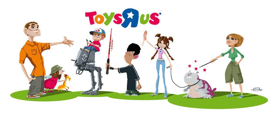 Benjamin von Eckartsberg - Character Design - Toys 'R' us - Kunde: Aixsponza