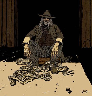 Benjamin von Eckartsberg - Illustration  - The Farmer - Personalwork