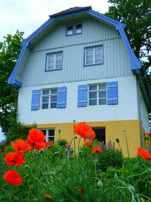 Das Münterhaus in dem Gabriele Münter und Wassily Kandinsky lebten