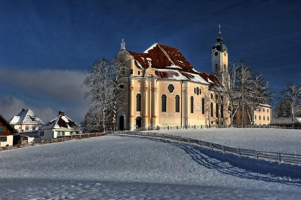 Die Wieskirche, ein Rokokojuwel mit UNESCO Weltkulturerbe Status