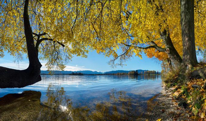 Der Staffelsee im Herbst