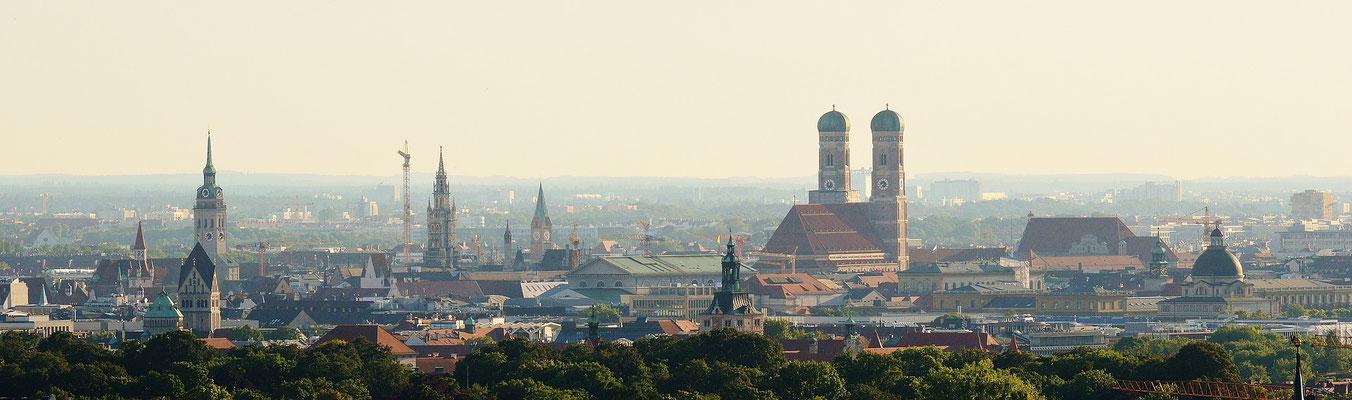 München, Stadt der Museen, Biergärten, Kirchen und vielem mehr