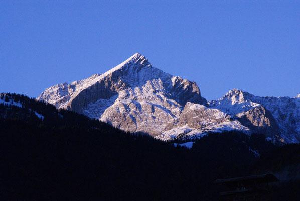 Die Bergwelt ist zu jeder Jahreszeit ein lohnenswertes Ziel