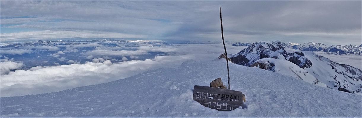 Sommet du Grand Ferrand - Grand Ferrand / Dévoluy / Guide de Haute Montagne