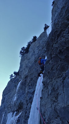 Reprise de la glace après la trav' de L3 - Glacenost / Matin Difficile / Cascade de Glace / Haute-Maurienne