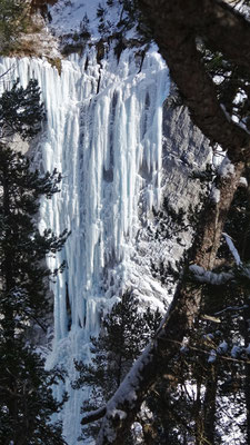 Glacenost vue d'en face - Glacenost / Cascade de Glace / Haute-Maurienne