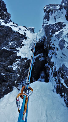 La grotte. Grand Argentier / Tire Bouchon / Topo