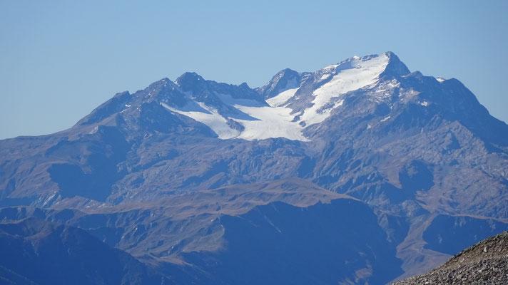L'Étendard et le glacier de St-Sorlin - Tour de la Flachère