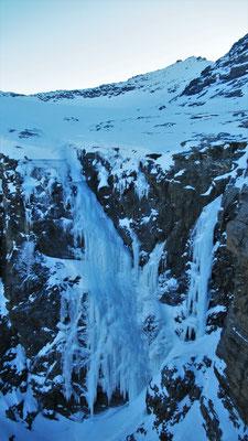 Sortie de Roche Michel - Cascade de glace - Goulotte - Guide Maurienne