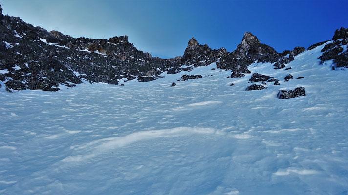 La seconde plaque de neige, Pic du Thabor