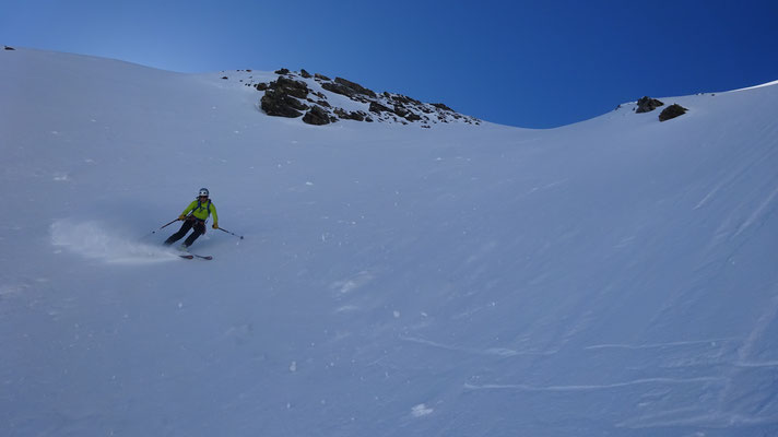 Sylvain sur le haut de la ligne (Lamet - Roche Michel)