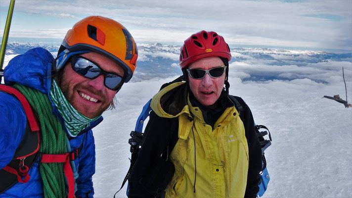 L'équipe du jour au sommet! - Grand Ferrand / Dévoluy / Guide de Haute Montagne