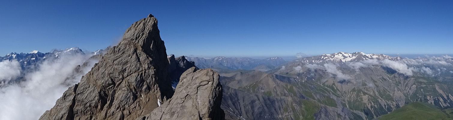 L'Aiguille Centrale d'Arves - Aiguilles d'Arves topo