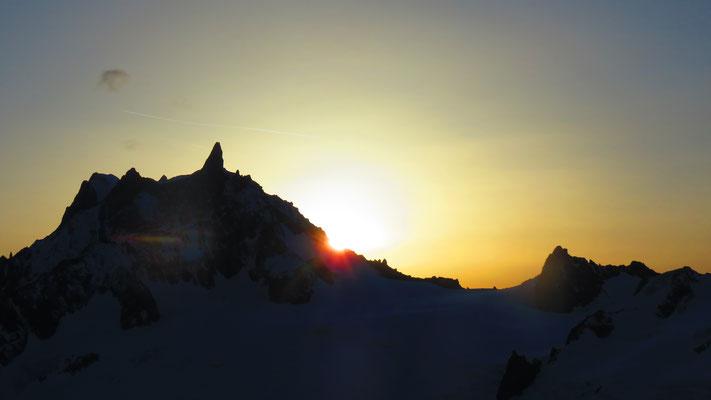 Pour finir par le levé de soleil!