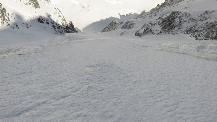 La glace n'est pas bien loin