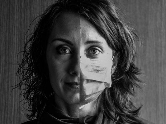"""3° classificato: Anna Kielpinska - """"Prima e dopo il coronavirus"""""""