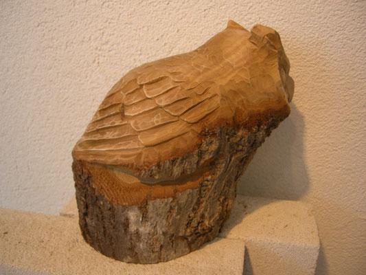 Eulenskulptur
