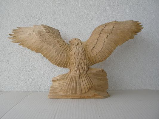 Adler Holzschnitzerei