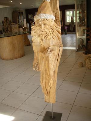 St. Nikolaus Holzskulptur