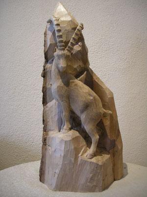 Steinbock Figur