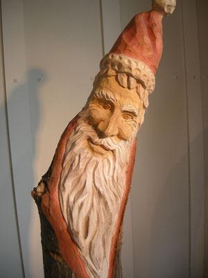 Santaclaus Holzschnitzerei