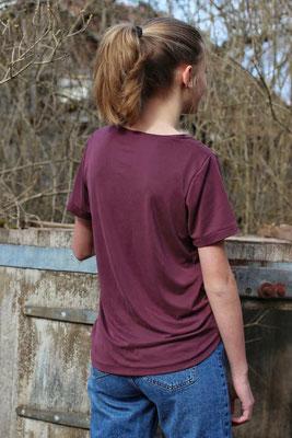 Herbula als Basic-Shirt, von @wanderfalkin