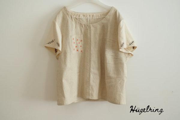 """... bestickte """"Bluse Robinia"""" von @huegelring"""