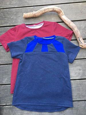 Herbula-Basic-Shirts, mit und ohne Passe, von @augenmass_naeherei