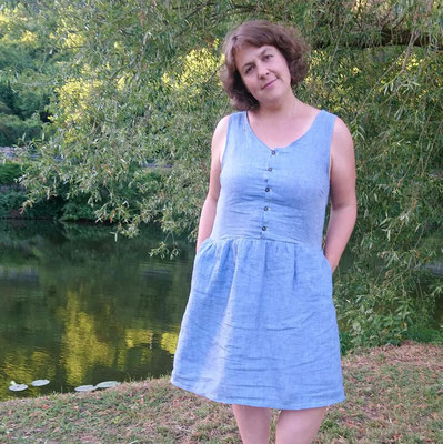 Acacia-Kleid von @kamajelat