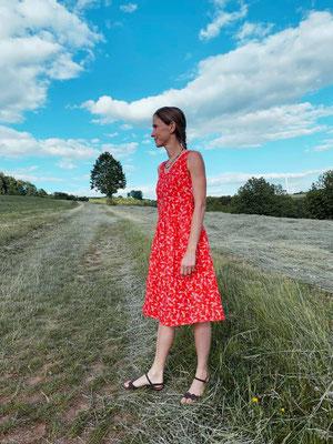 Acacia-Kleid, genäht von @girafanten