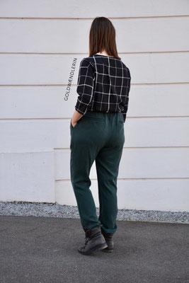 Salix aus Tencel-Twill von @goldwaendlerin, kombiniert mit einer Bluse Robinia
