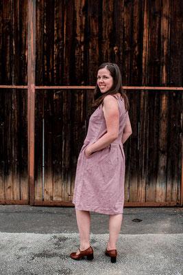 Kleid Acacia mit Kellerfalten von @keinschnickschnack
