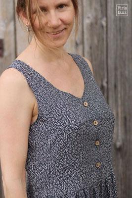Acacia-Kleid aus Viskose, genäht von @firlefanz_schnittmuster