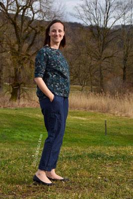 Hose SALIX und ein Betula-Pullover von @goldwaendlerin