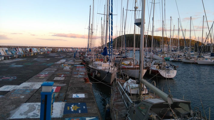 Horta, Azores Yacht Delivery