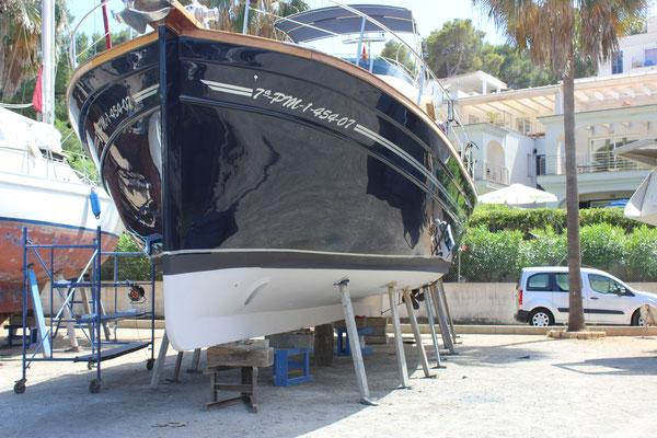 Menorquin 160 ready to launch