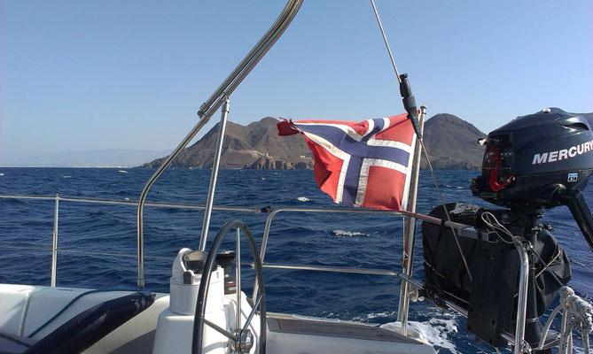 Leaving the Mediterranean