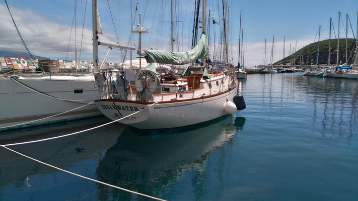Professional Yacht Delivery Horta Azores