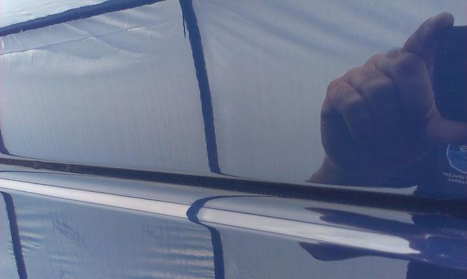 Quality Awlgrip Carinthia Blue finish